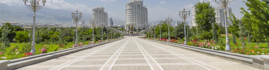 Ashgabat business summit Marble avenue