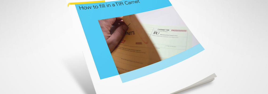 how to fill in a tir carnet cover