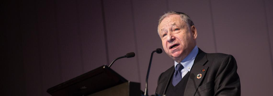Jean Todt spurs action on road safety at address to IRU members