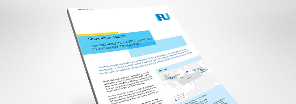 Intermodal transport in the BSEC region using TIR as an example of best practice