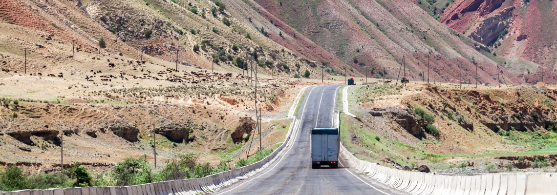First China-Kyrgyzstan-Uzbekistan TIR transport cuts cost of trade