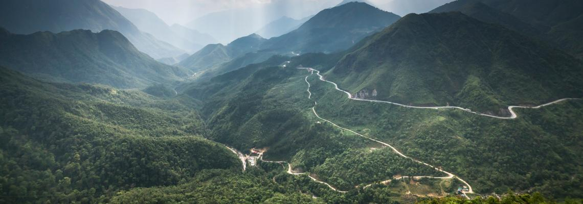 vietnam mountains roads
