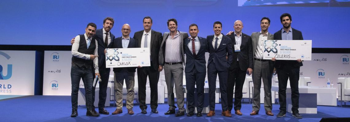 CargoX and Zeleros Hyperloop win the IRU World Congress Startup Competition