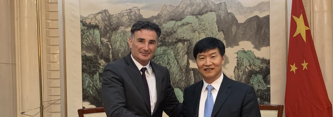 IRU forges closer ties with key Chinese stakeholders
