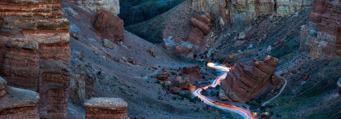 Kazakhstan road