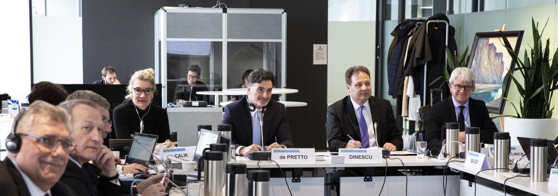 Новое правление IRU, избранное на 2020–2021 годы, приступило к выполнению своих полномочий