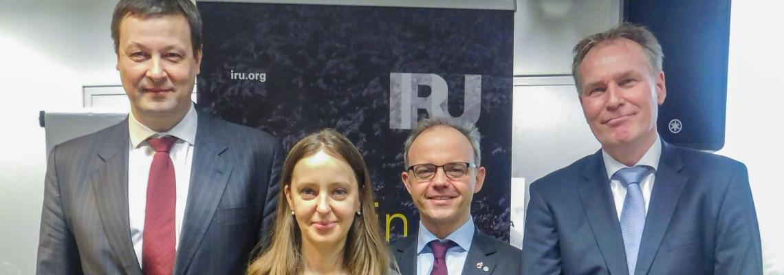 Избрано новое руководство Комитета IRU по связи с ЕС в области грузового транспорта