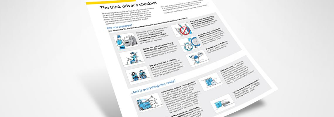 IRU - The truck driver's checklist