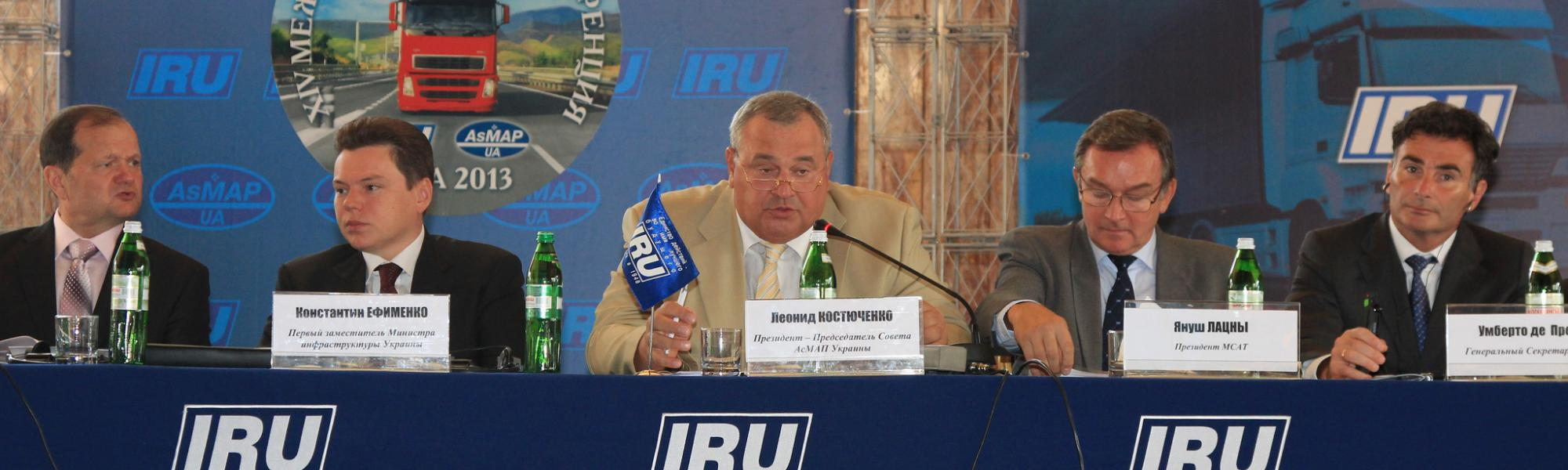 IRU commends best Eurasian hauliers 2013 at Awards Ceremony in Yalta