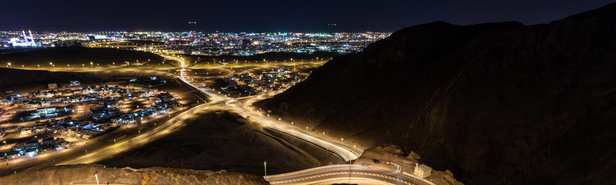 muscat at night