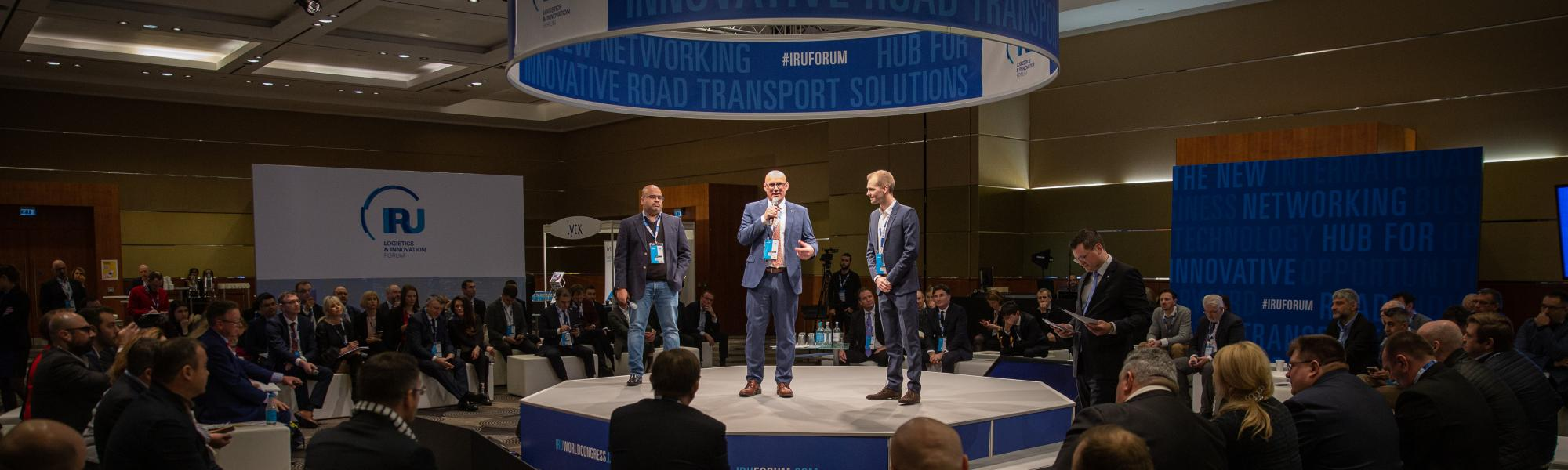 IRU's Logistics and Innovation Forum shows the future of road safety