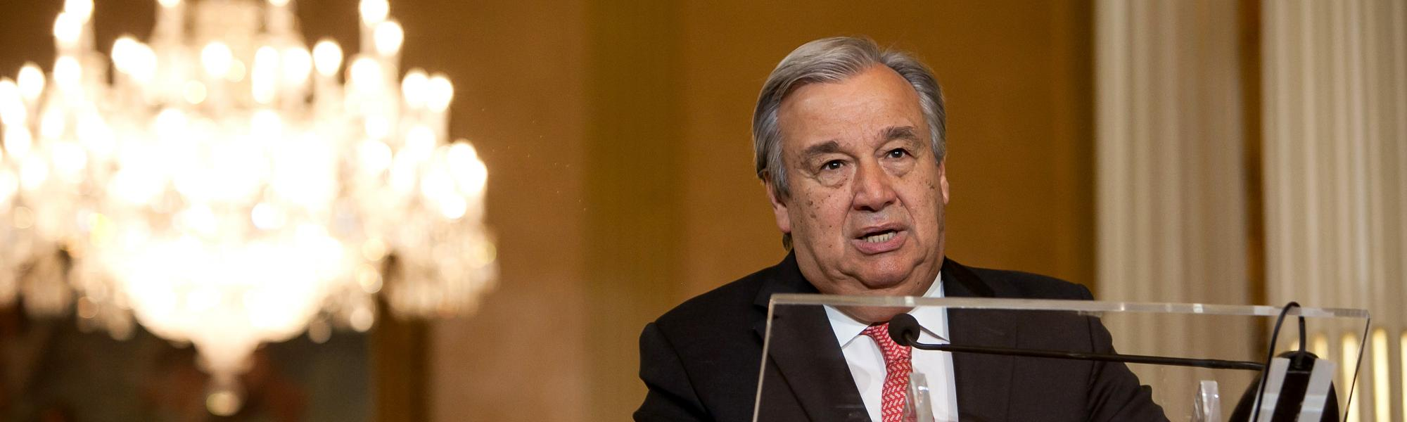 UN Secretary General reminds UN member states of the fundamental role of TIR during COVID-19