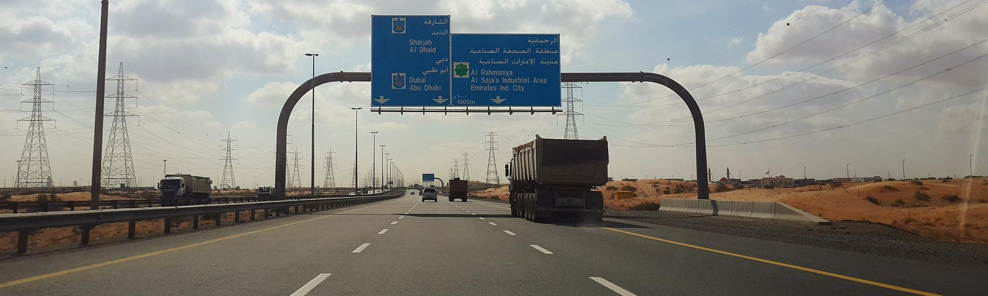 First Saudi TIR export shipment speeds across UAE border