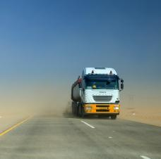 IRU road transport in middle east