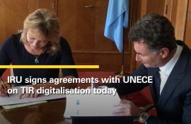 TIR digitalisation agreement