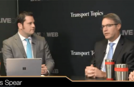 Watch Chris Spear talking about autonomous trucking