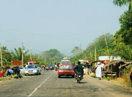 Yaounde Cameroon road
