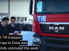 First Europe to China TIR truck transport 12 days