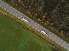 Trucks from above
