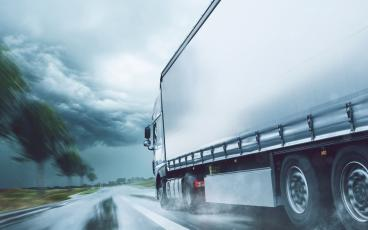 Testing driverless heavy-duty vehicles in adverse weather conditions