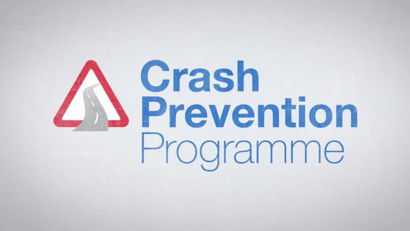 Crash prevention programme road transport