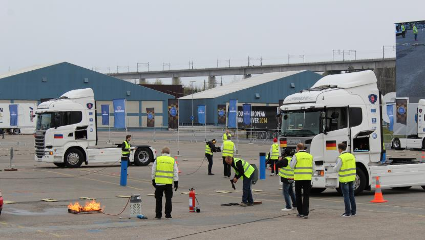 road transport training, IRU academy