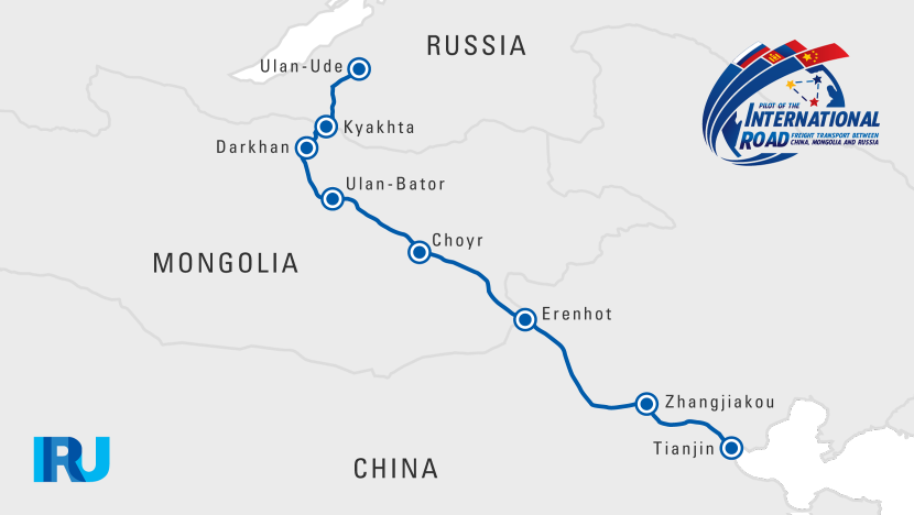 China russia trade corridor pilot caravan iru map china trade economy russia gumiabroncs Images