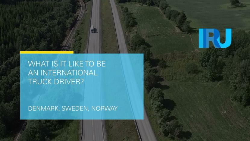 What is it like to be an international truck driver?