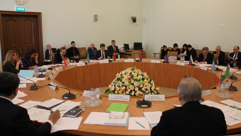 CIS Commission on Economic Affairs of the Economic Council meeting