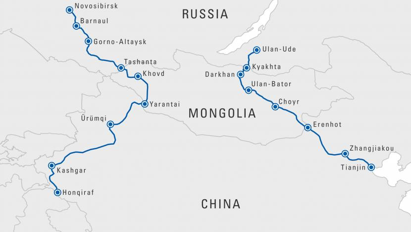 china mongolia russia