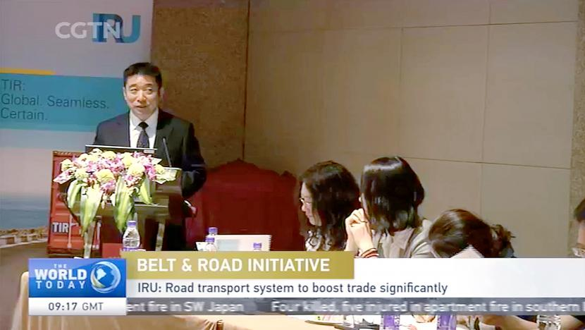 IRU coverage on China's CCTV news attracts nearly 30 million views