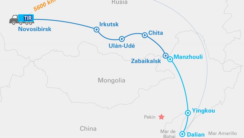 TIR en China mejoran las expectativas de la iniciativa Belt and Road