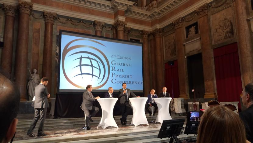 Global Rail Freight Conference in Genova
