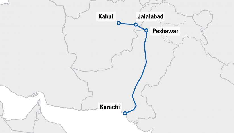 Pakistan launches first outbound TIR transport
