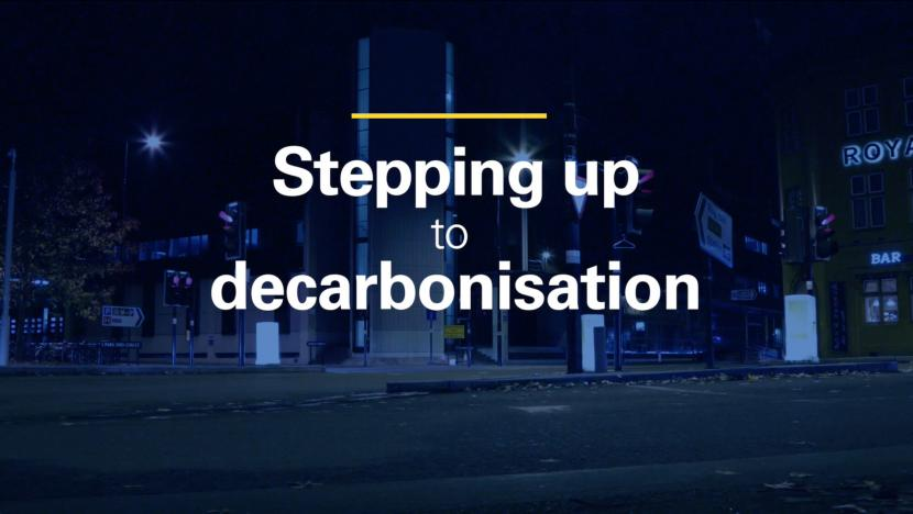 Stepping up to decarbonisation