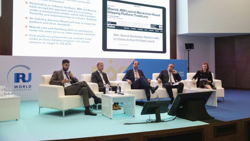 IRU World Congress roundtable session data is the new oil