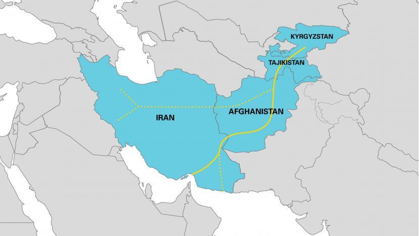 Kyrgyzstan-Tajikistan-Afghanistan-Iran (KTAI) corridor