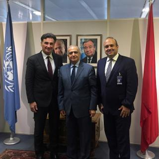UN ESCWA Annual Meeting Beirut IRU de Pretto