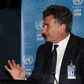 IRU Secretary General, Umberto de Pretto took part in UN ESCWA annual meeting