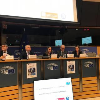 "EP event ""Buses & Coaches in the Mobility Packages - panel 1"