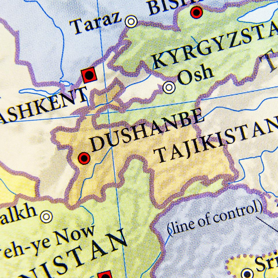 Tajikistan Transport Leader Reveals How TIR In China Will Open - Middle east map dushanbe