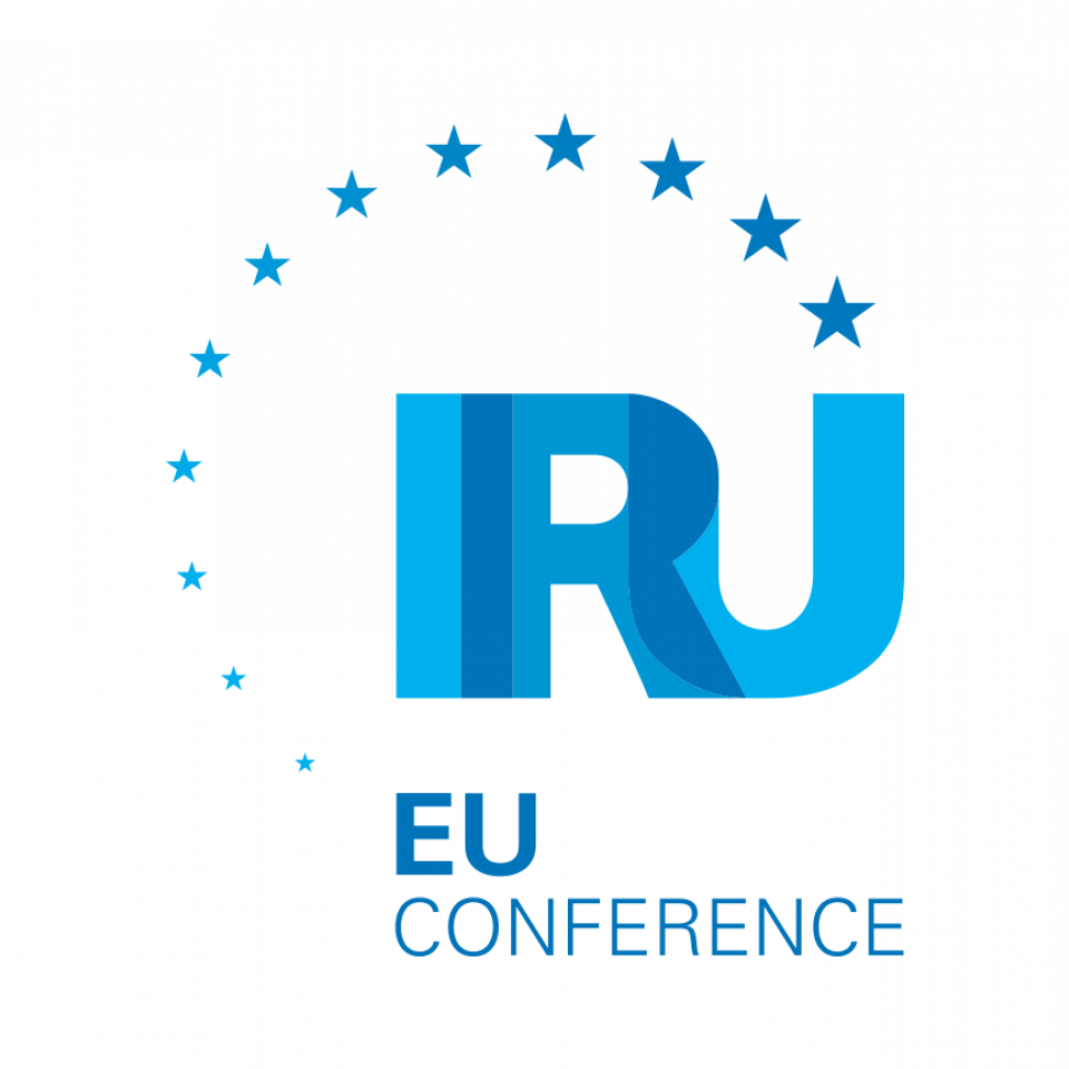 IRU European road transport conference decarbonisation user charging brussels belgium